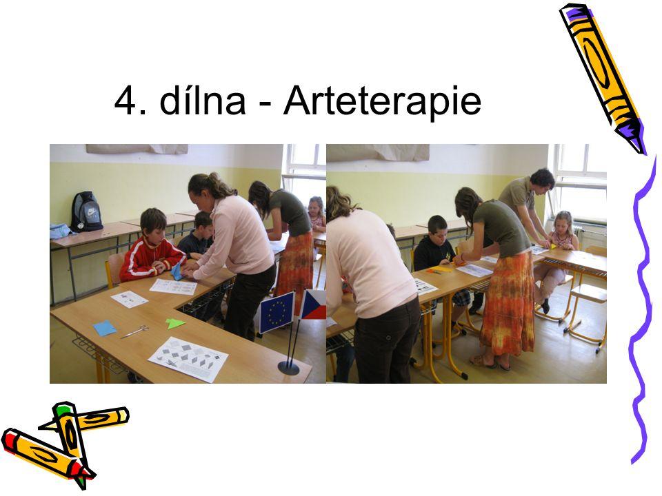 4. dílna - Arteterapie