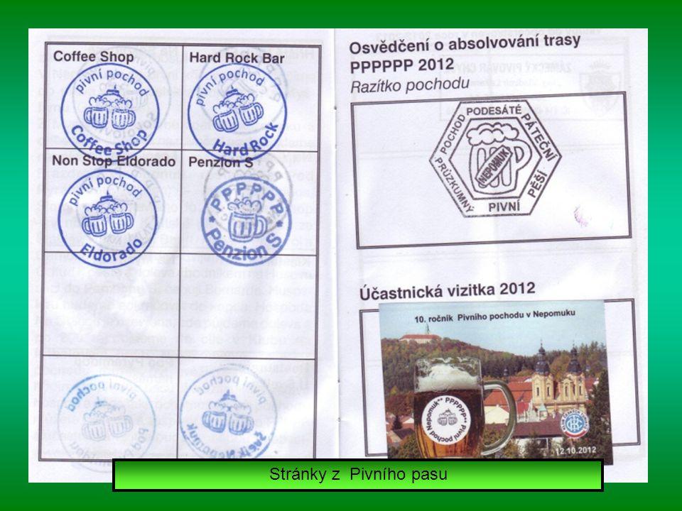 Stránky z Pivního pasu