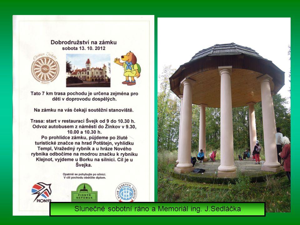 Třídenního turistického Podzimu pod Zelenou Horou 2012 se zúčastnilo 592 pochodníků.