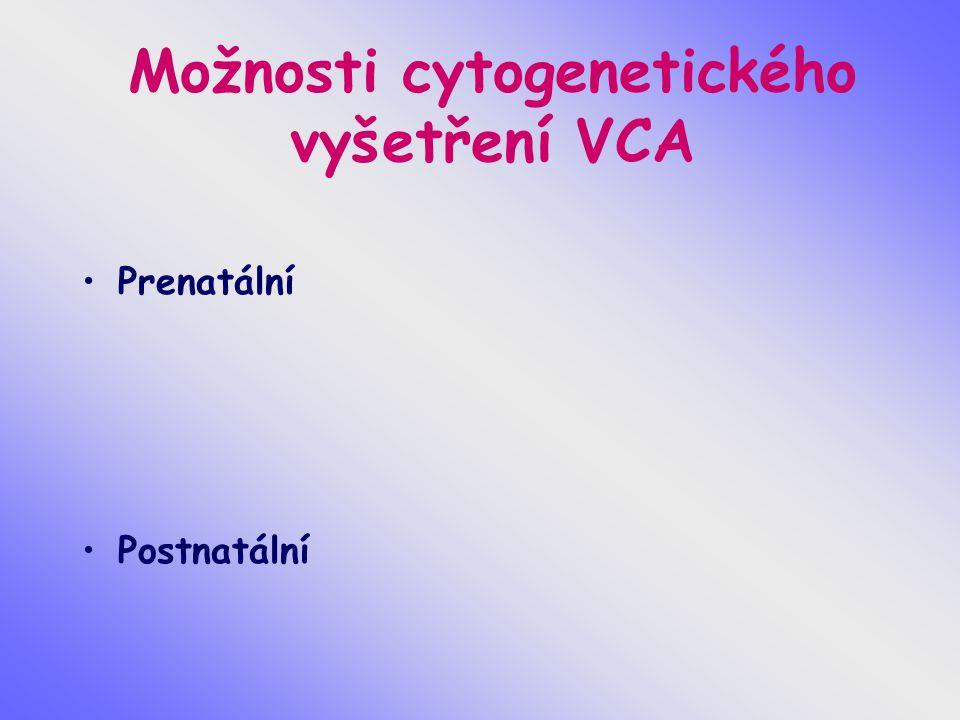 Preimplantační genetický screening nejčastěších aneuploidií Nejčastěji vyšetřované chromosomy 13,15,16,18,21,22,X, Y příčiny nejčastějších aneuploidií příčiny spontánních potratů