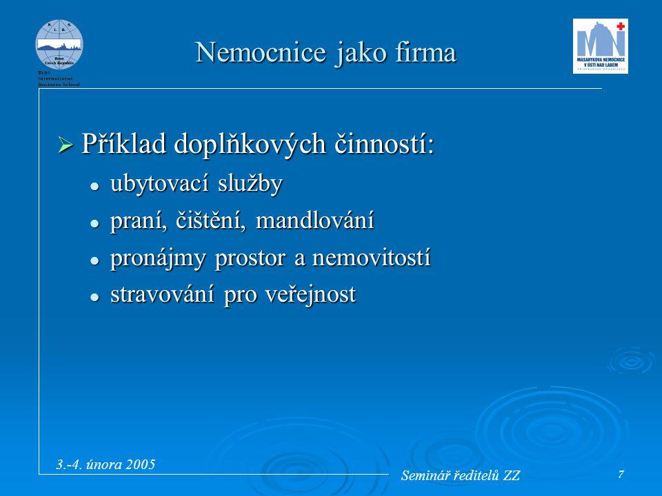 Seminář ředitelů ZZ 3.-4.