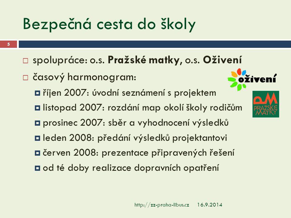 Cyklojízda 16.9.2014http://zz-praha-libus.cz 16  besedy s policisty a závod pro 1.