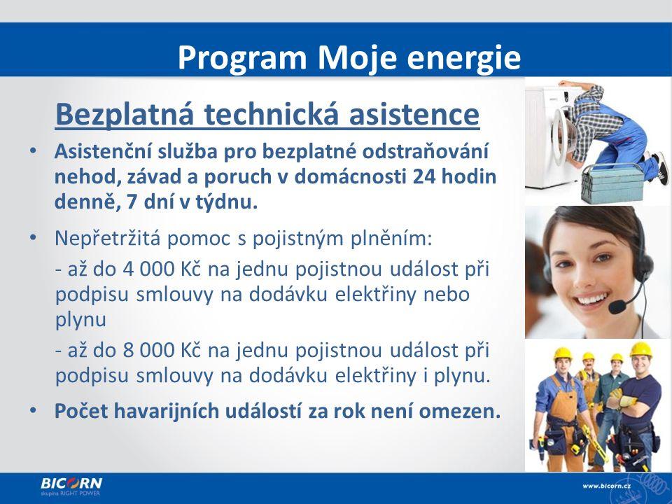 Bezplatná technická asistence Asistenční služba pro bezplatné odstraňování nehod, závad a poruch v domácnosti 24 hodin denně, 7 dní v týdnu.