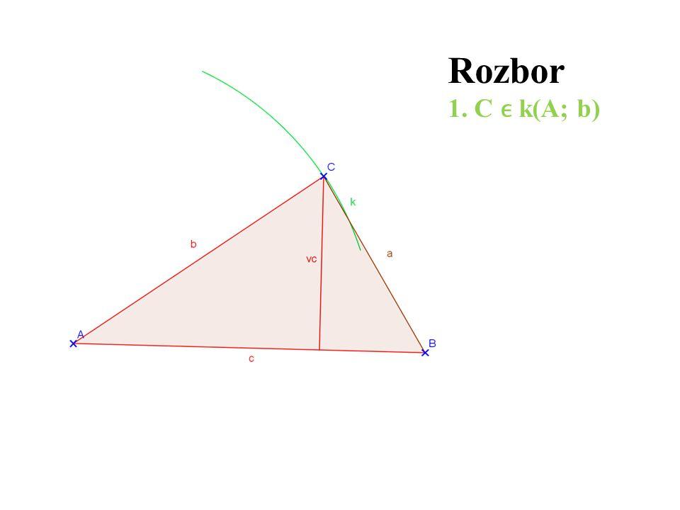 Rozbor 1. C k(A; b)