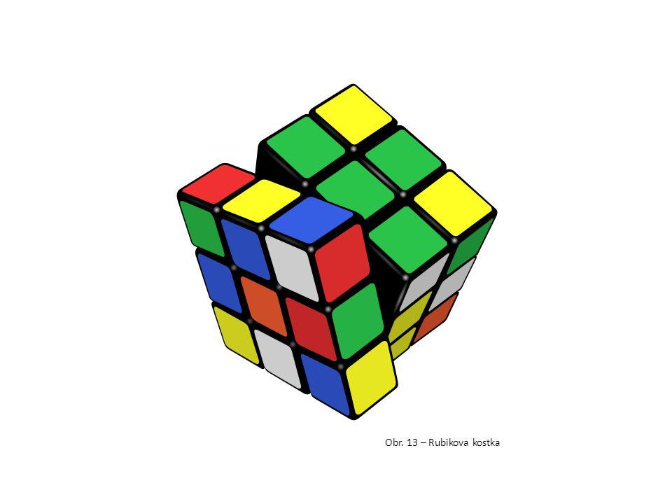 Obr. 13 – Rubikova kostka