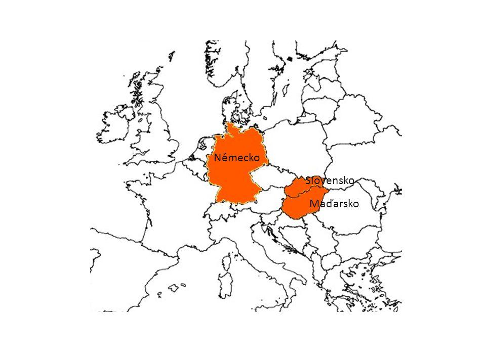 Maďarsko Slovensko Německo