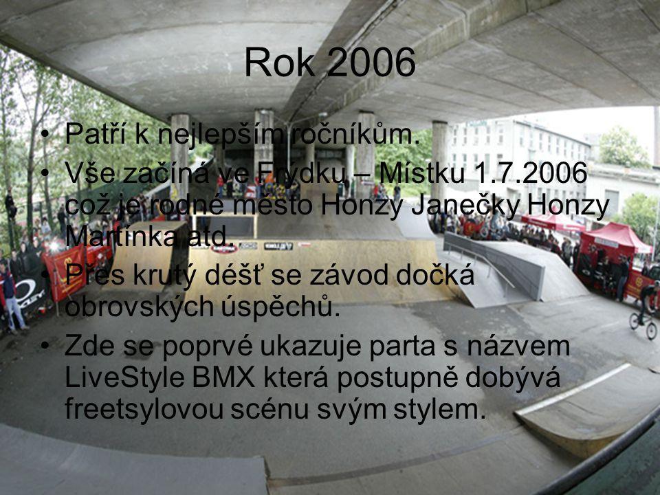 Rok 2006 Patří k nejlepším ročníkům.