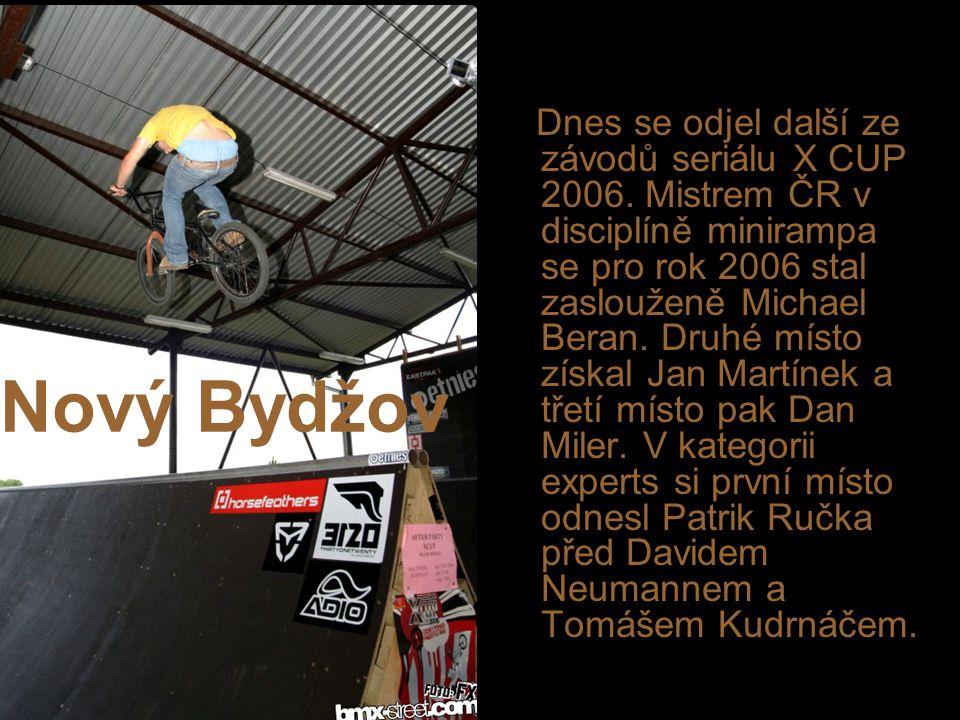 Nový Bydžov Dnes se odjel další ze závodů seriálu X CUP 2006.