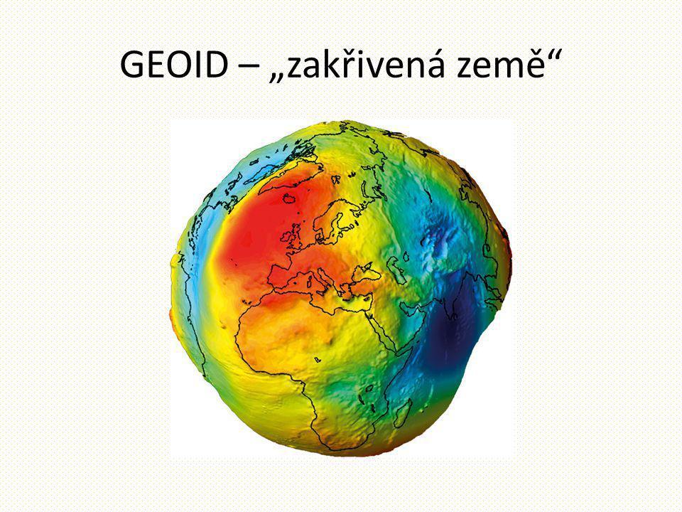 """GEOID – """"zakřivená země"""""""