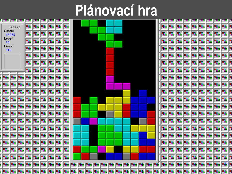 15 Plánovací hra