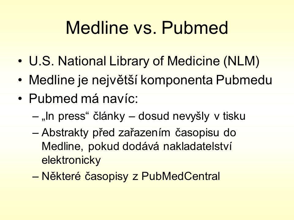 Plné texty http://www.faf.cuni.cz/services/infocenter/resources/ bi.cuni.cz www.nlk.cz Atd...
