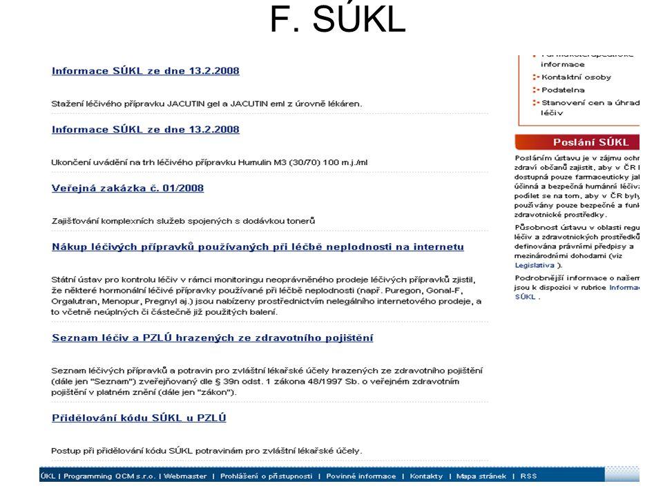 F. SÚKL