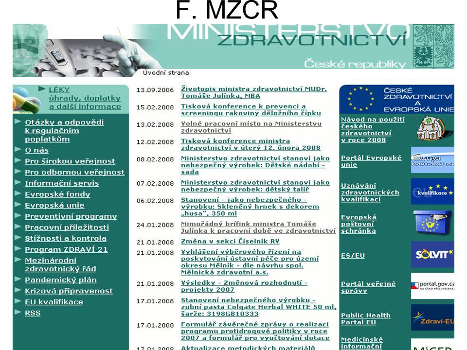 F. MZCR