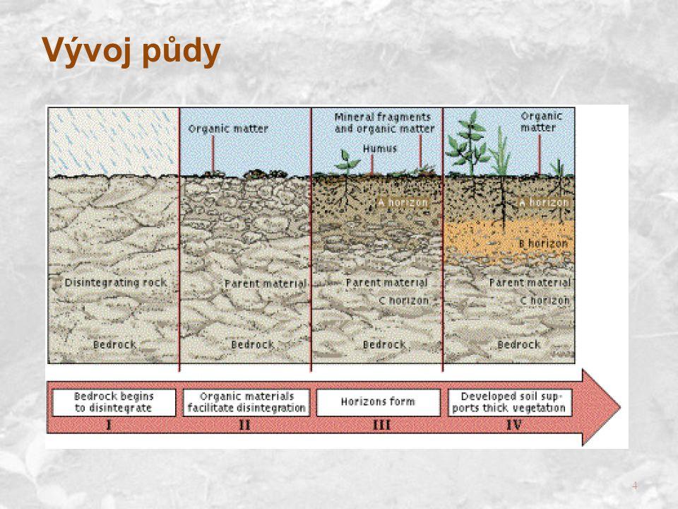 4 Vývoj půdy