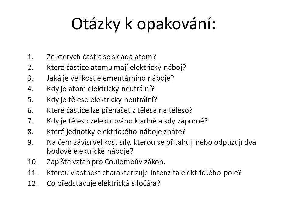 Použitá literatura LEPIL, O., ŠEDIVÝ, P.Fyzika pro gymnázia – Elektřina a magnetismus.