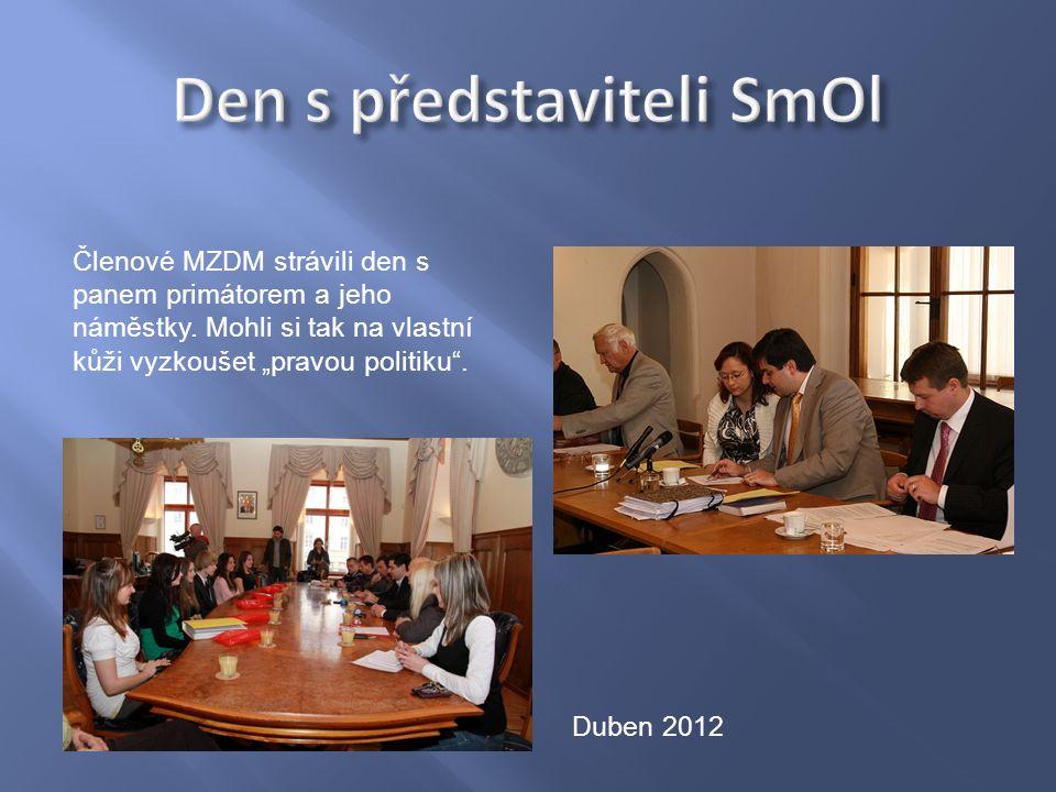 Členové MZDM strávili den s panem primátorem a jeho náměstky.