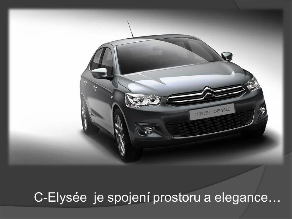 C-Elysée je spojení prostoru a elegance…