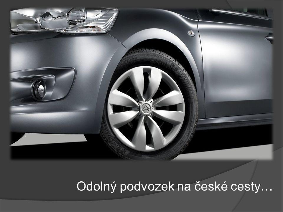 Odolný podvozek na české cesty…