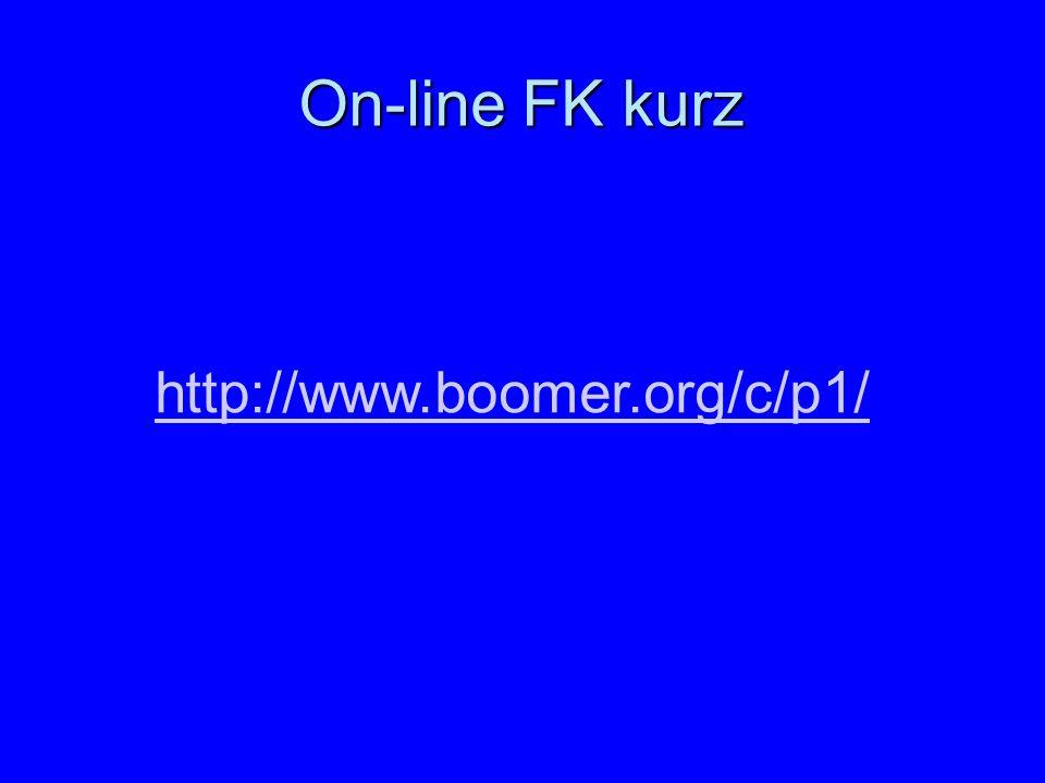 On-line FK kurz http://www.boomer.org/c/p1/