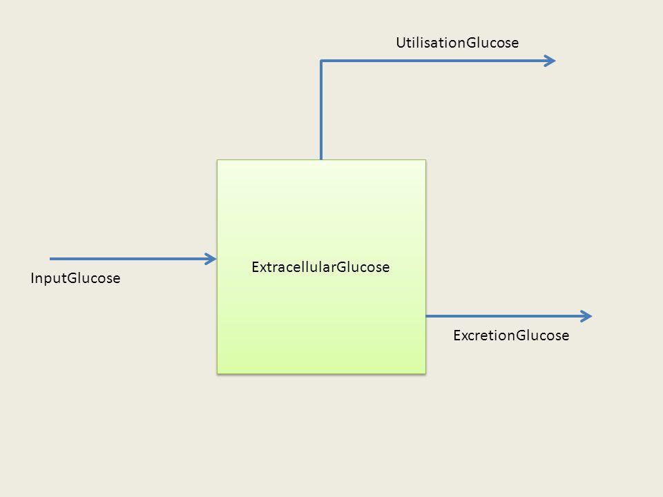 ExtracellularGlucose InputGlucose ExcretionGlucose UtilisationGlucose