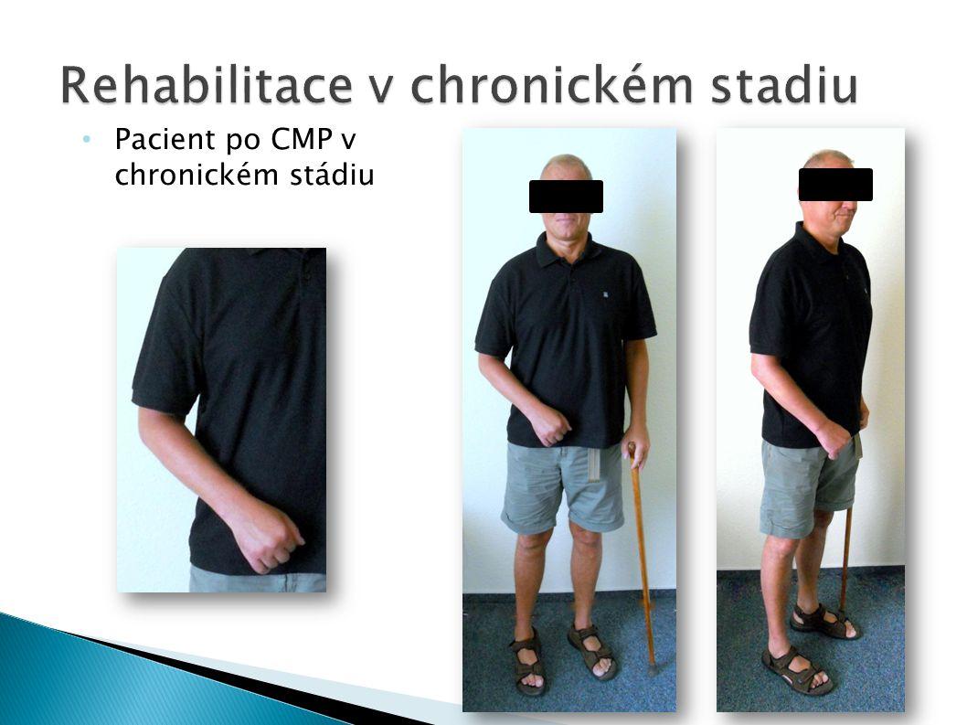 Pacient po CMP v chronickém stádiu