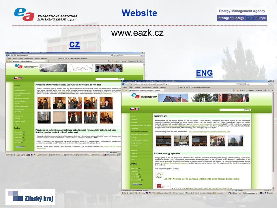 Website www.eazk.cz CZ ENG