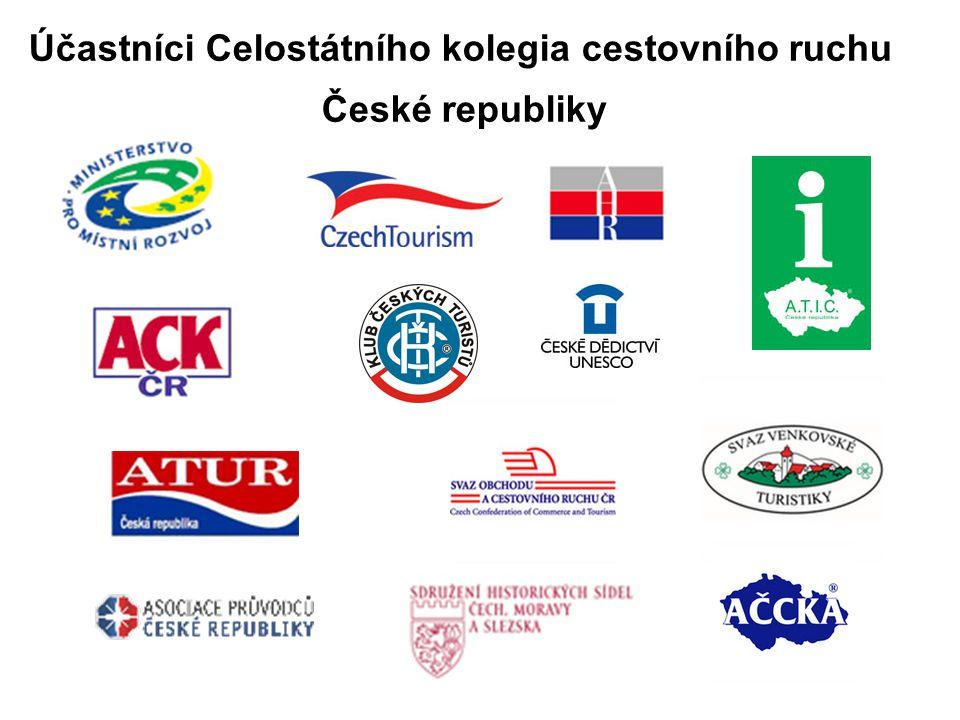 Účastníci Celostátního kolegia cestovního ruchu České republiky