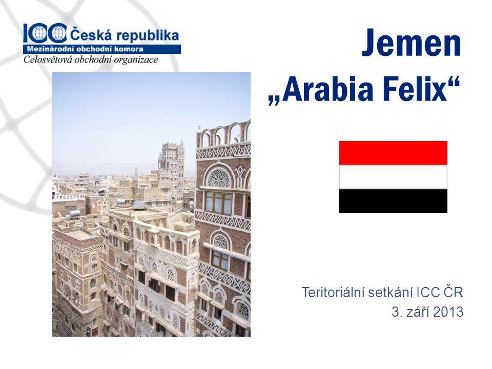 "Jemen ""Arabia Felix Teritoriální setkání ICC ČR 3. září 2013"