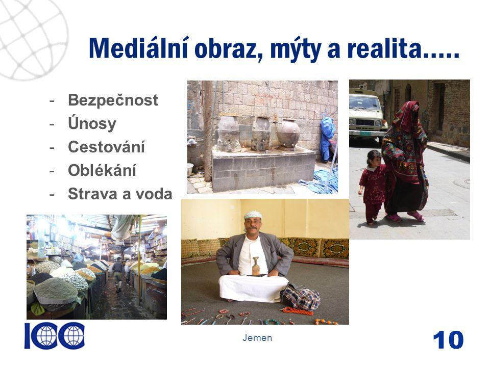 www.icc-cr.cz -Bezpečnost -Únosy -Cestování -Oblékání -Strava a voda Mediální obraz, mýty a realita.....