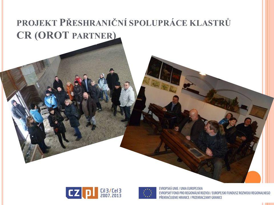 VÝZKUM CESTOVNÍHO RUCHU NA ČESKO-POLSKÉM PŘÍHRANIČÍ – REALIZÁTOR OROT Projekt je zaměřený na zlepšení a profesionalizaci cestovního ruchu na česko-polském příhraničí.