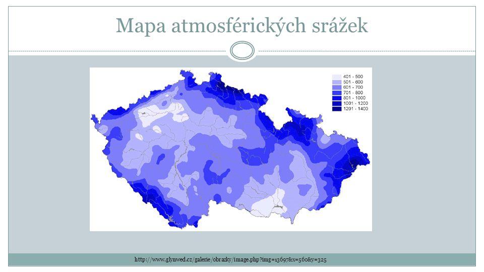 Mapa atmosférických srážek http://www.glynwed.cz/galerie/obrazky/image.php?img=13697&x=560&y=325