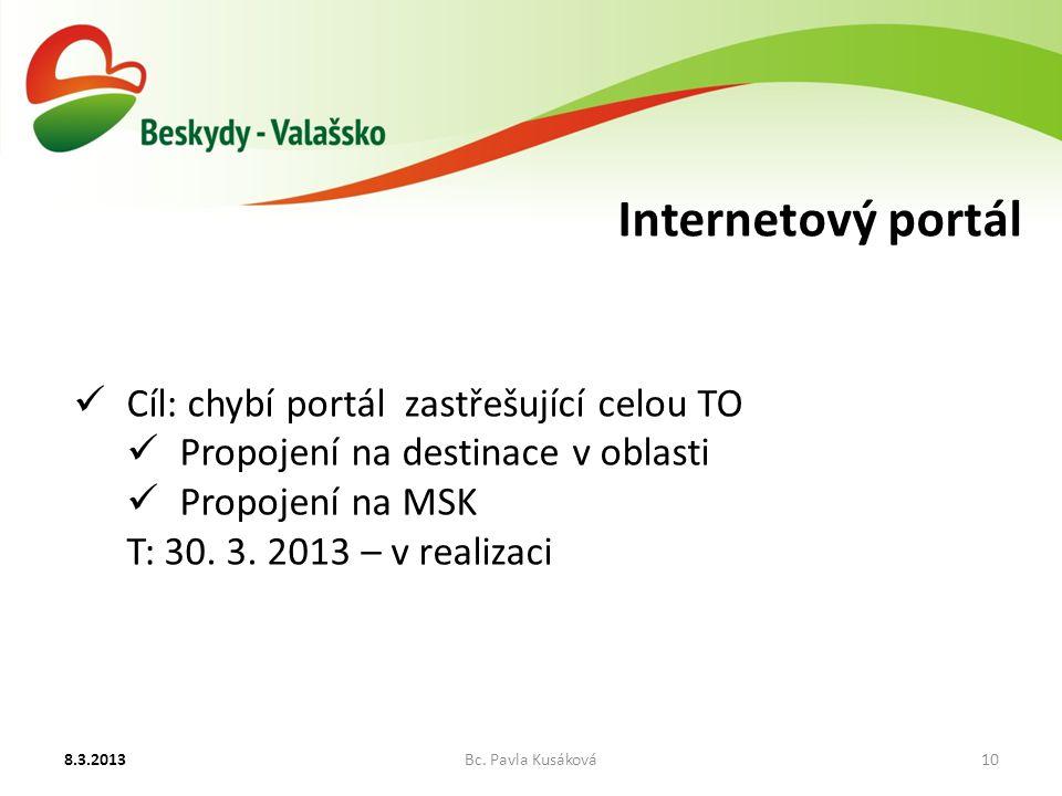Internetový portál 8.3.2013Bc.