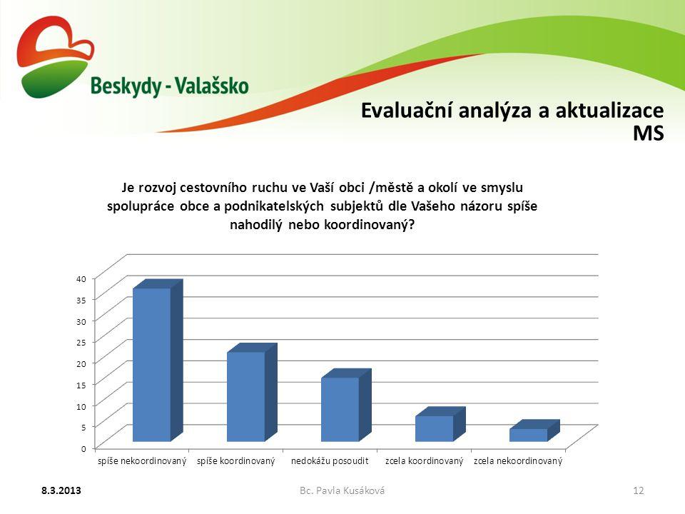 Evaluační analýza a aktualizace MS 8.3.2013Bc. Pavla Kusáková12