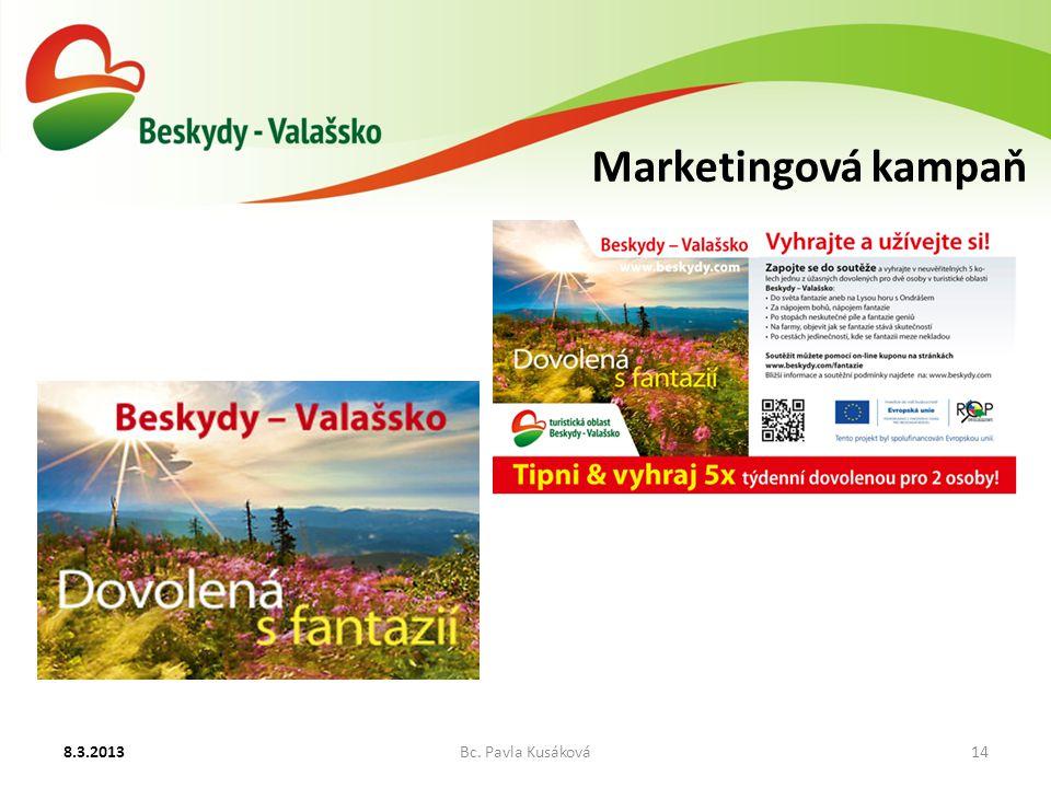 Marketingová kampaň 8.3.2013Bc. Pavla Kusáková14