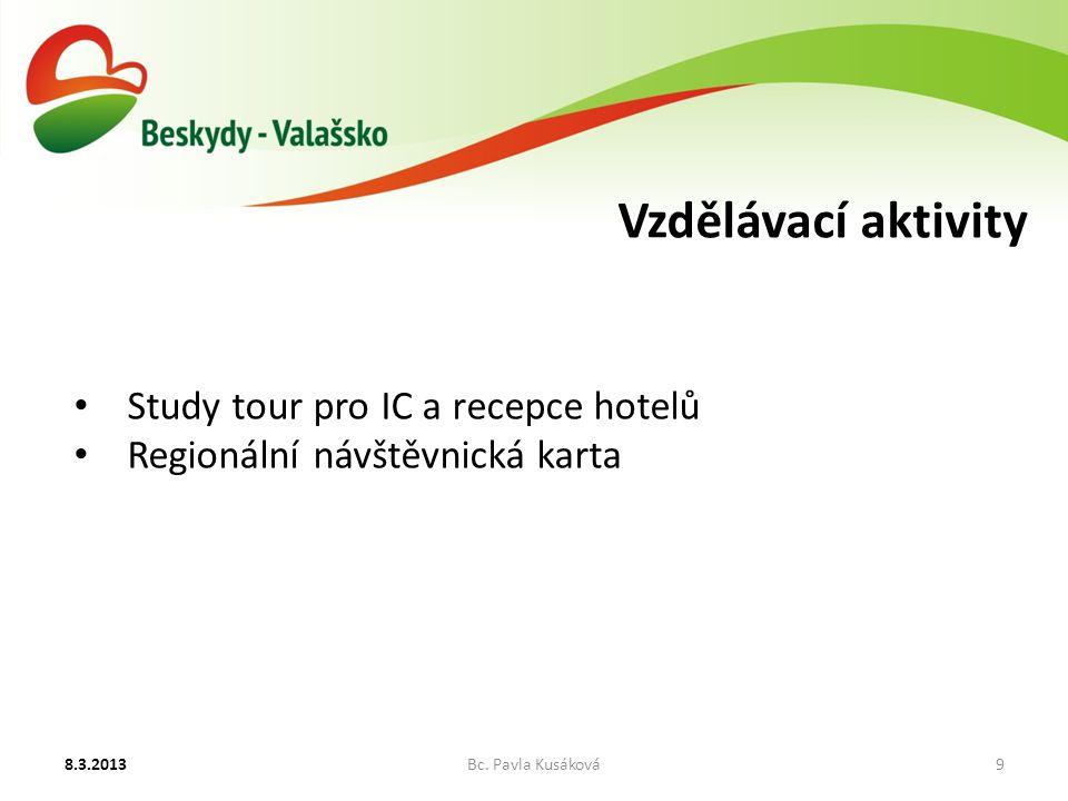 Vzdělávací aktivity 8.3.2013Bc.