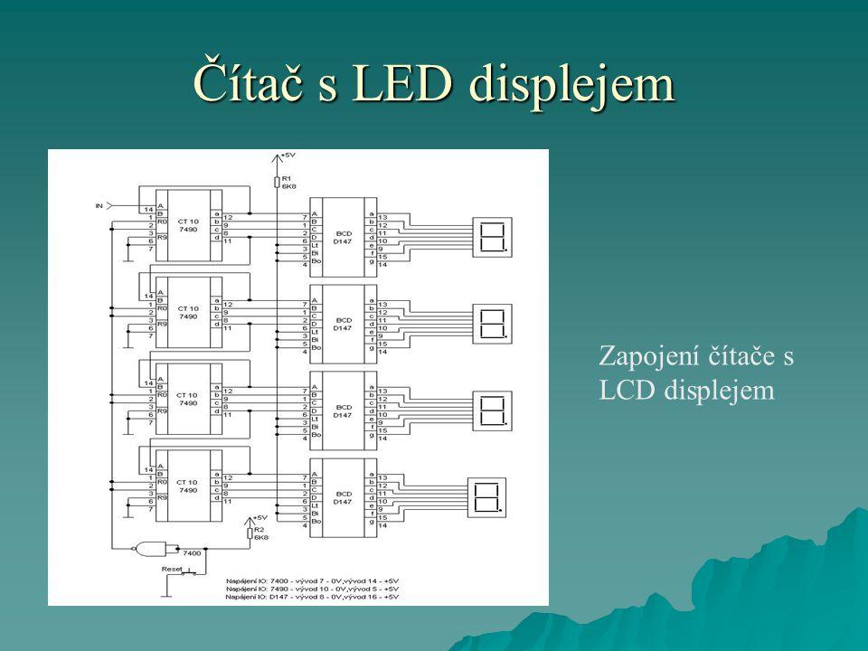 Čítač s LED displejem  Toto zařízení je určené k počítání čehokoliv.