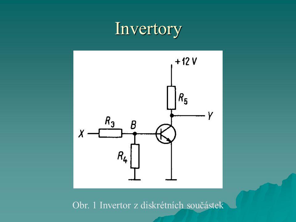 Invertory Obr. 1 Invertor z diskrétních součástek
