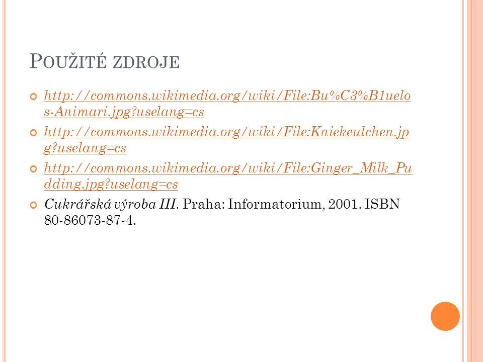 P OUŽITÉ ZDROJE http://commons.wikimedia.org/wiki/File:Bu%C3%B1uelo s-Animari.jpg?uselang=cs http://commons.wikimedia.org/wiki/File:Kniekeulchen.jp g?