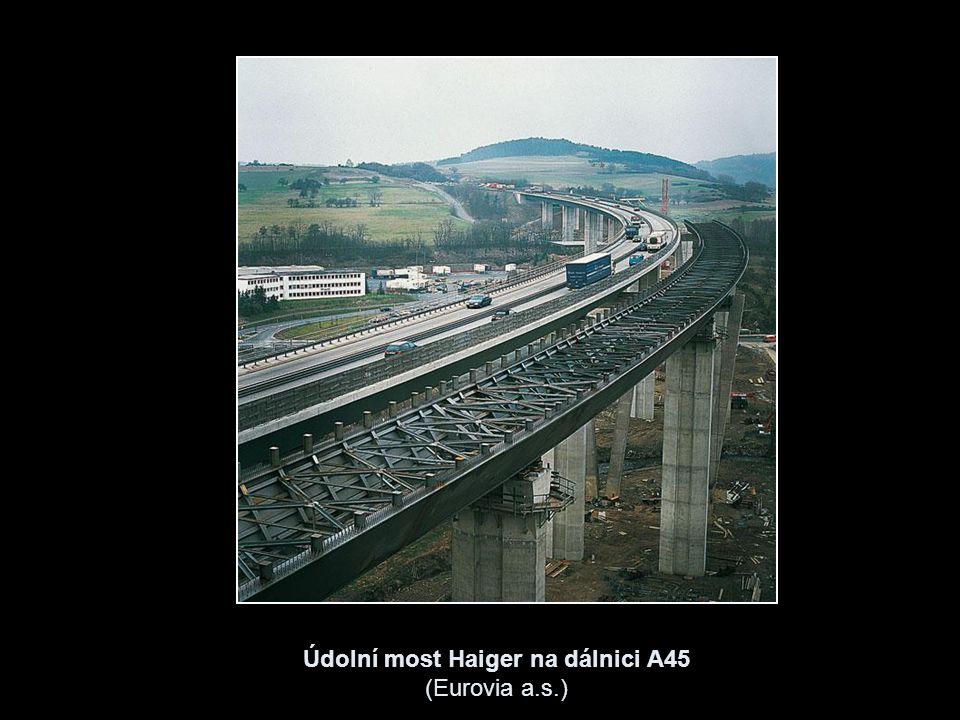 Údolní most Haiger na dálnici A45 (Eurovia a.s.)