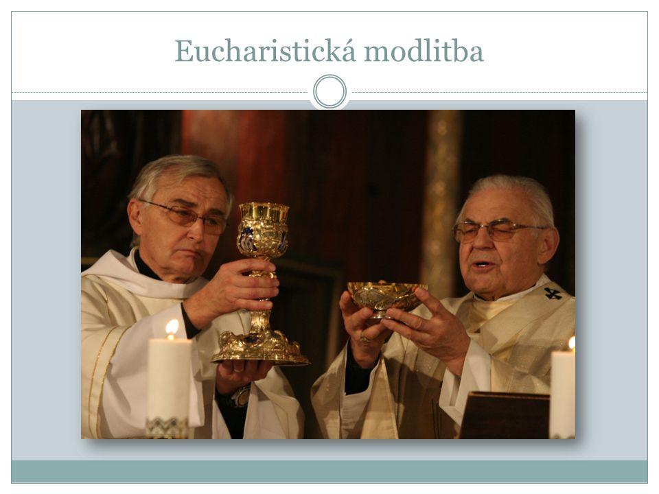 Eucharistická modlitba