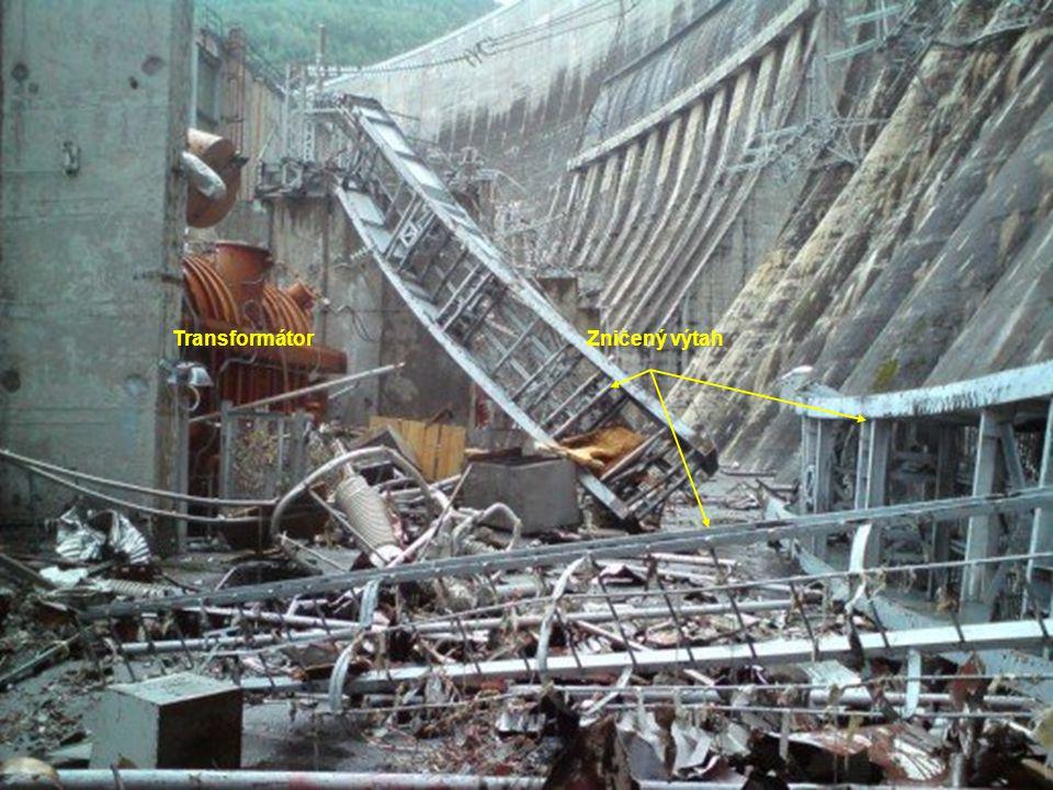 Transformátor Zničený výtah