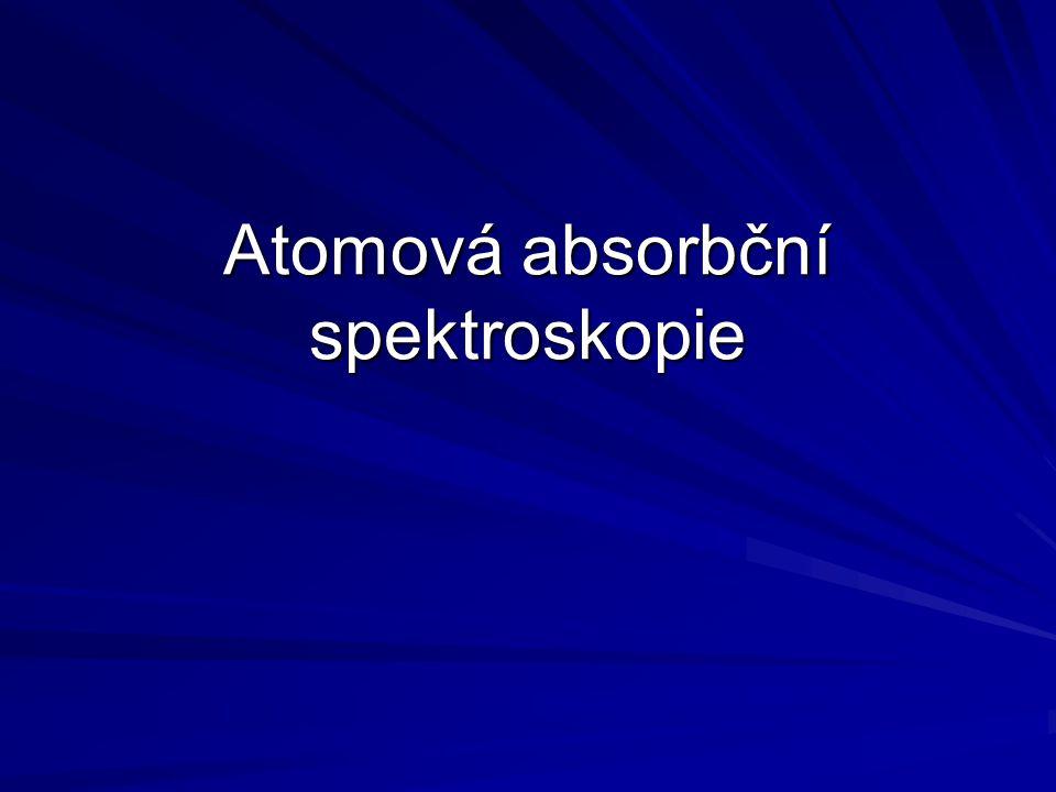 Atomová absorbční spektroskopie