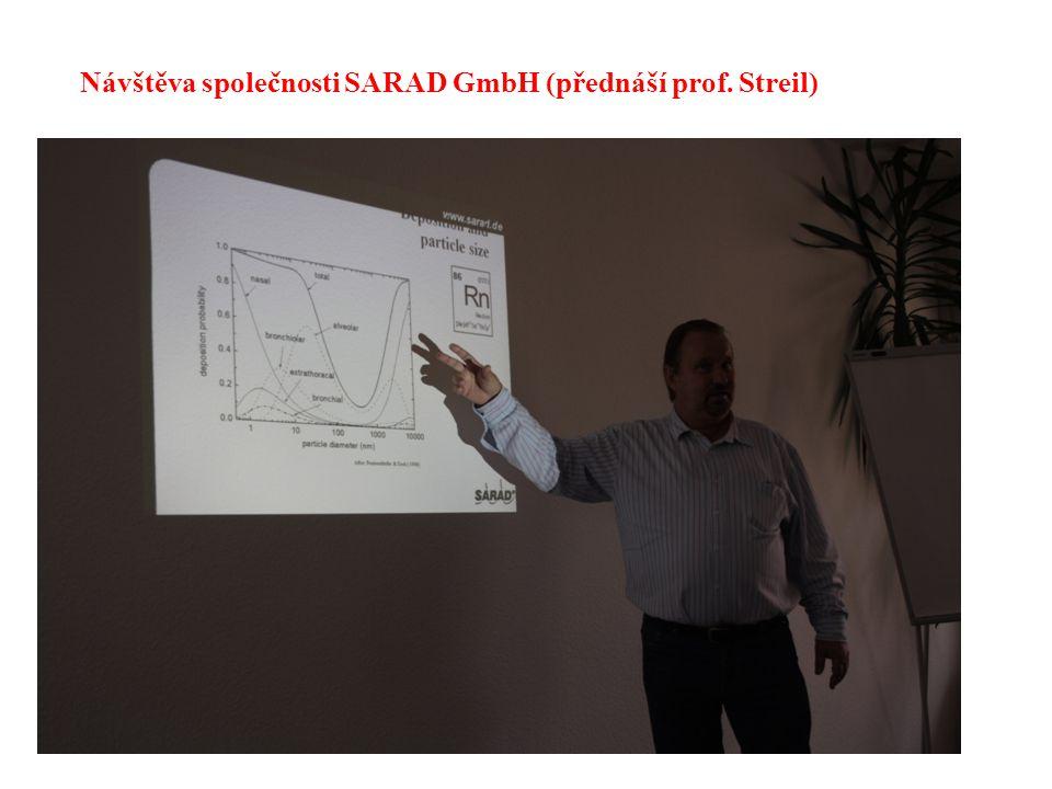 21 Návštěva společnosti SARAD GmbH (přednáší prof. Streil)
