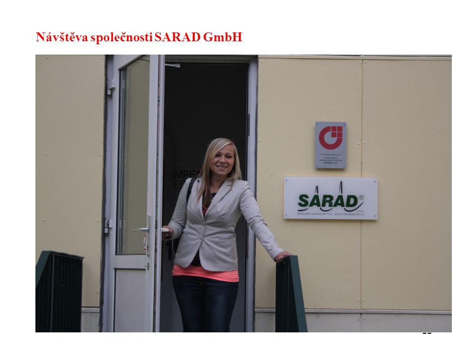 22 Návštěva společnosti SARAD GmbH