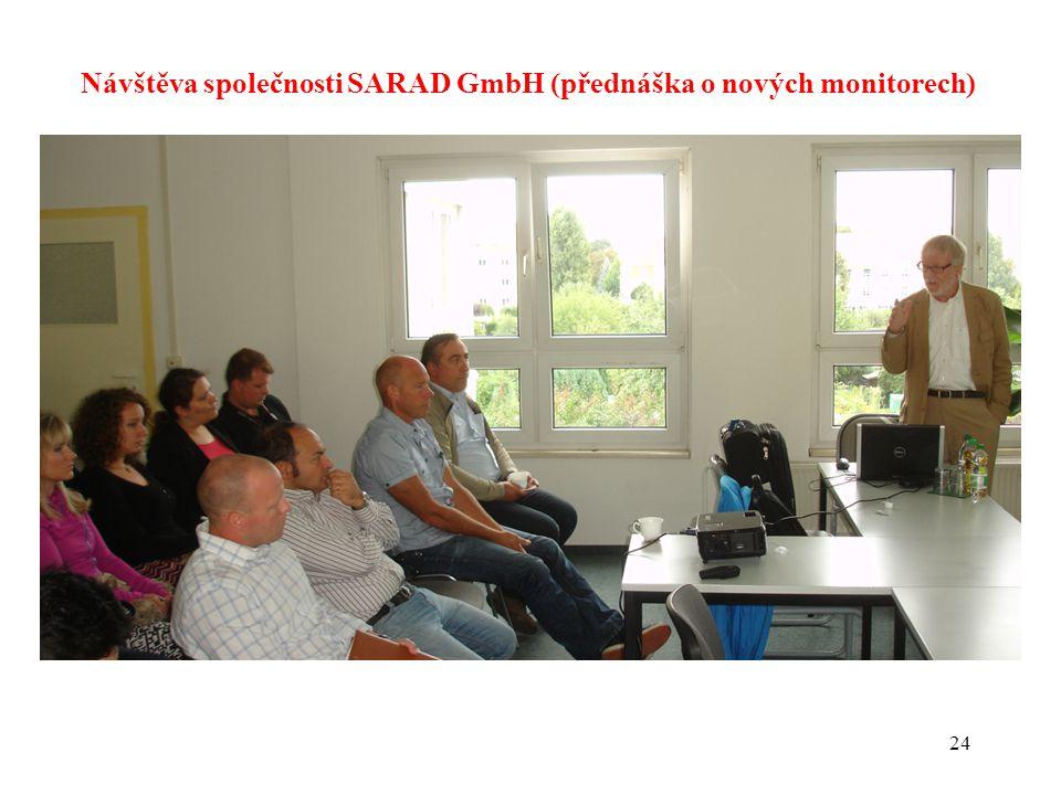 24 Návštěva společnosti SARAD GmbH (přednáška o nových monitorech)