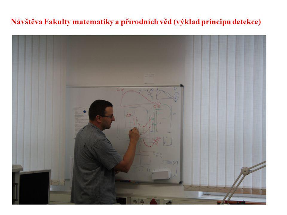 29 Návštěva Fakulty matematiky a přírodních věd (výklad principu detekce)