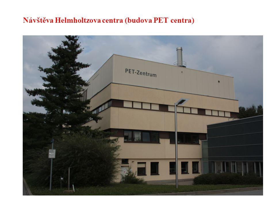 41 Návštěva Helmholtzova centra (budova PET centra)