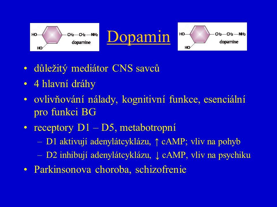 Degradace dopaminu