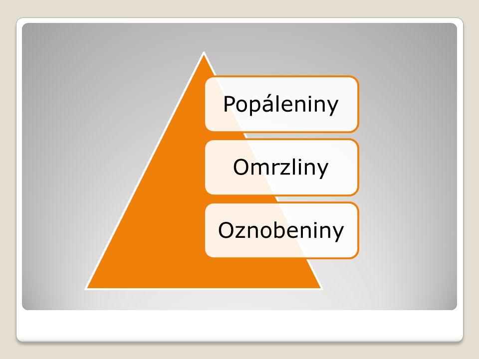 3. Chemické vlivy způsobené kyselinami zásadami