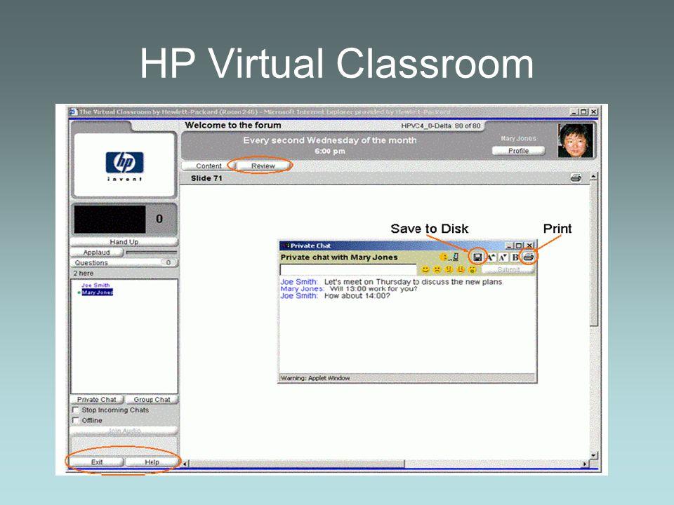 HP Virtual Classroom